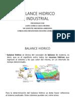 Balance Hidrico Industrial