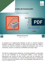 Materiales de Construcción - Cementos