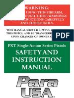 Manual PXT