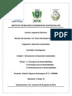 Unidad 1 Introduccion Al Desarrollo Sustentable