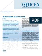 water labor