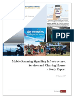 Mobile Roaming Signalling Infrastructure, Services and Clearing Houses