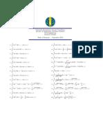 tabla de integrales