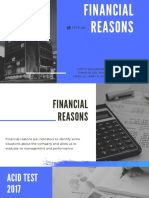 Financial REASONS (1)