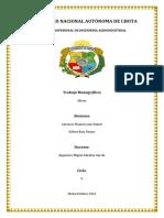 monografia olivo