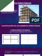 Elementos Estructurales EXPOSICIÓN