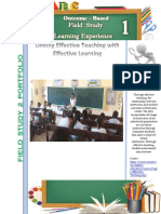 Learning Experience 1