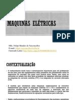 Aula 1 Máquinas Elétricas - Conceitos Elementares de Máquinas CA e CC