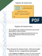 Registro de Instruccion