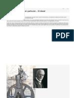 historia del motor diesel