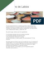Bálsamo de LabiosCómo Cultivar Pimentón Desde Casa