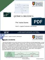 Química Orgânica-Ligação Covalente e Hibridização Do Carbono