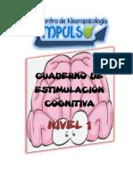 Cuaderno de estimulacion cognitiva nivel 1