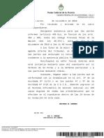 El caso Maldonado llega a Casación