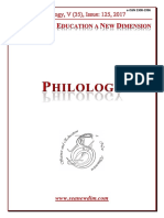 Seanewdim Philology V 35 Issue 125