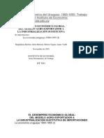 Historia Económica Del Uruguay 1900-1955