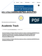 Academic Track _ Department of Education