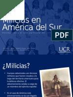 Milicias en América del Sur