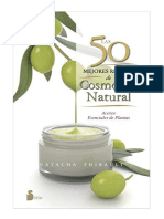 Las 50 Mejores Recetas de Cosmetica Natu