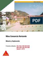 SAW Mina Consorcio Horizonte