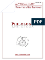 Seanewdim Philology V 36 Issue 136