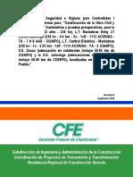 Anexo 4. Reglamento de Seguridad Del Proyecto Para Contratistas Proveedores Ext