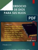 El Sacerdocio Santo de Dios