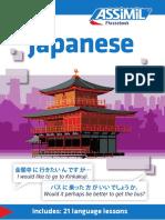 Assimil Phrasebook Japonese_extrait