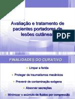 Avaliação e tratamento de pacientes portadores de lesões cutâneas