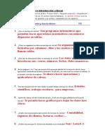 Cuestionario Excel Autoevaluaciones