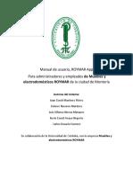 Anexo I - Manual de Usuario Roymar App