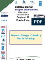 Proyecto Entrega, Cuidado y Uso de La Laptop Listo