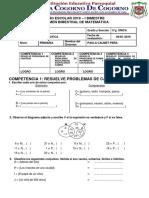 Examen Bimestral de Matematica Mm