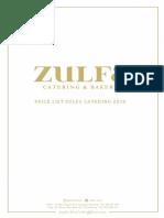 Zulfa Catering - 2019