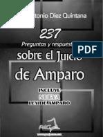 237 Preguntas y Respuestas sobre el Juicio de Amparo. Juan Antonio Díez Quintana