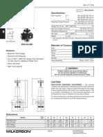 Regulator Vzduchu Wilkerson r30 Katalogove Listy