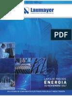 Lista de Precios Energia Laumayer 2017