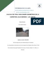Tpda. Julio Moreno- Las Juntas Br.