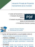 III Financiamiento 2007-II(2)