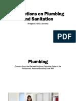Plumbing and Sanitation