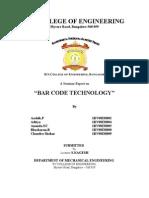 Barcode Technology Description