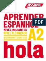 Assimil APRENDER ESPANHOL NÍVEL INICIANTES NÍVEL ALCANÇADO A2 HOLA_extrait