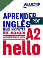 Assimil HELLO APRENDER INGLÊS NÍVEL INICIANTES NÍVEL ALCANÇADO A2_extrait