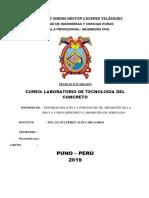 Informe Edit de concreto