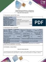 Guía para el uso de recursos educativos - Guía de Transcripción