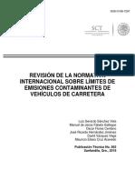 Normativa Internacional Sobre Límites de Emisiones Contaminantes