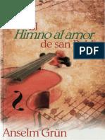 95573861 Grun Anselm El Himno Al Amor de San Pablo