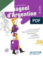 Assimil Guide de conversation espagnol d'Argentine de poche _extrait