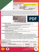 20191111 DP Exposición de Personal a Riesgo de Caída de Rocas