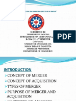 merger and acquisition of bank